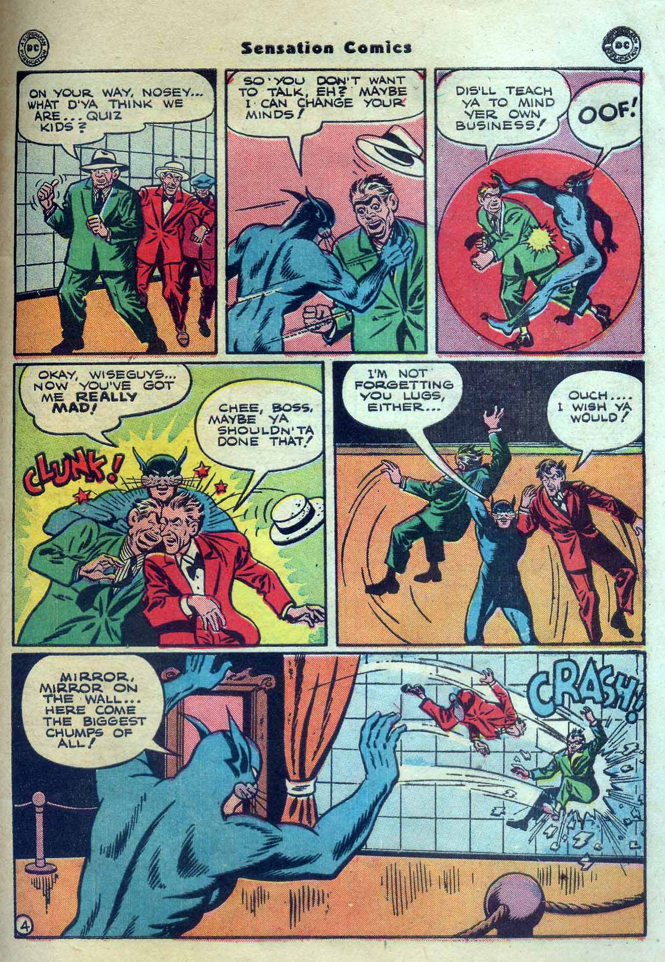 Read online Sensation (Mystery) Comics comic -  Issue #56 - 45