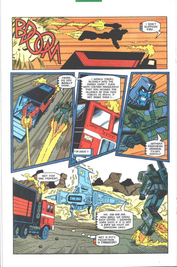 Read online Transformers: Generation 2 comic -  Issue #10 - 14