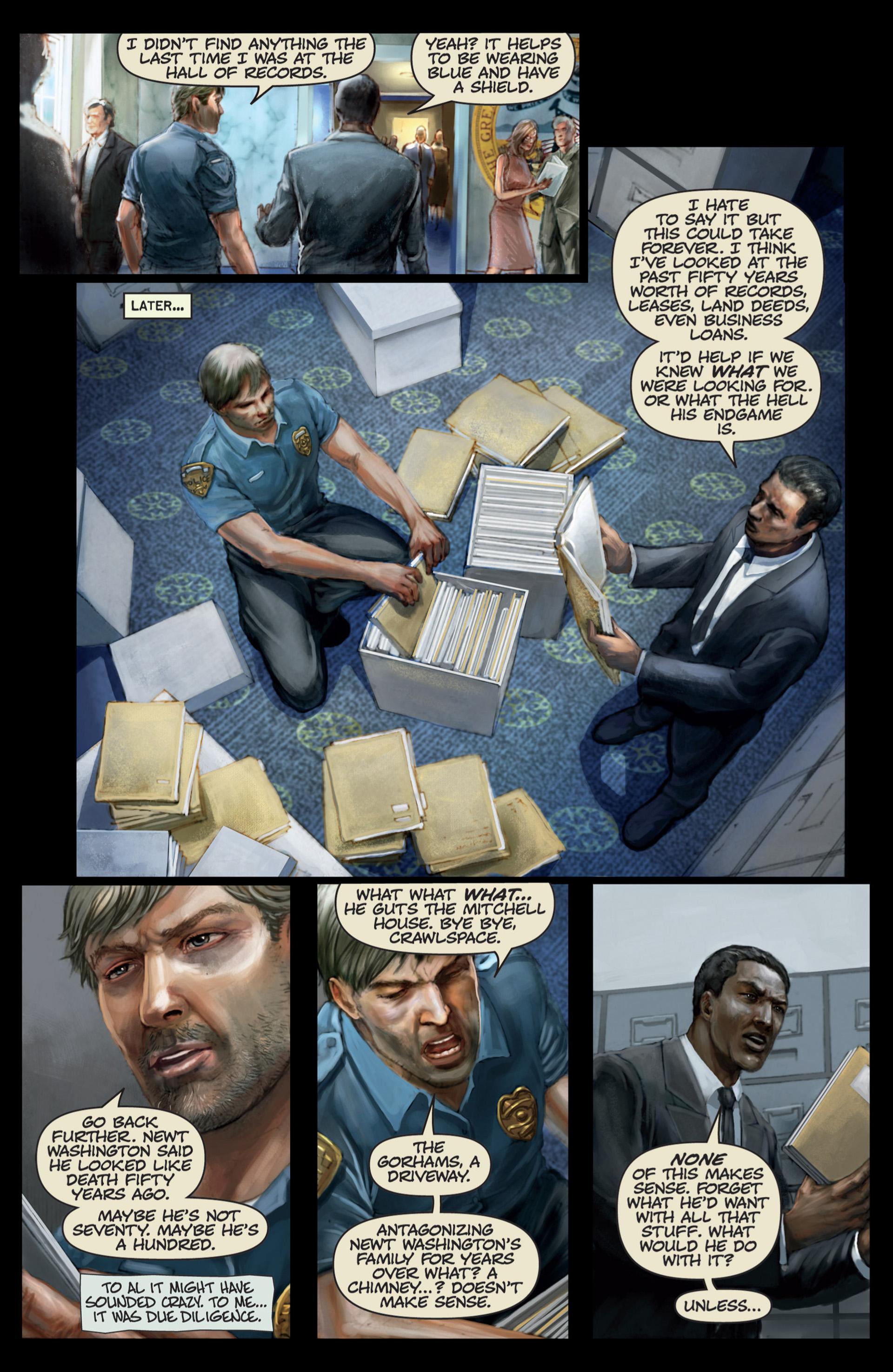 Read online Abattoir comic -  Issue #4 - 15