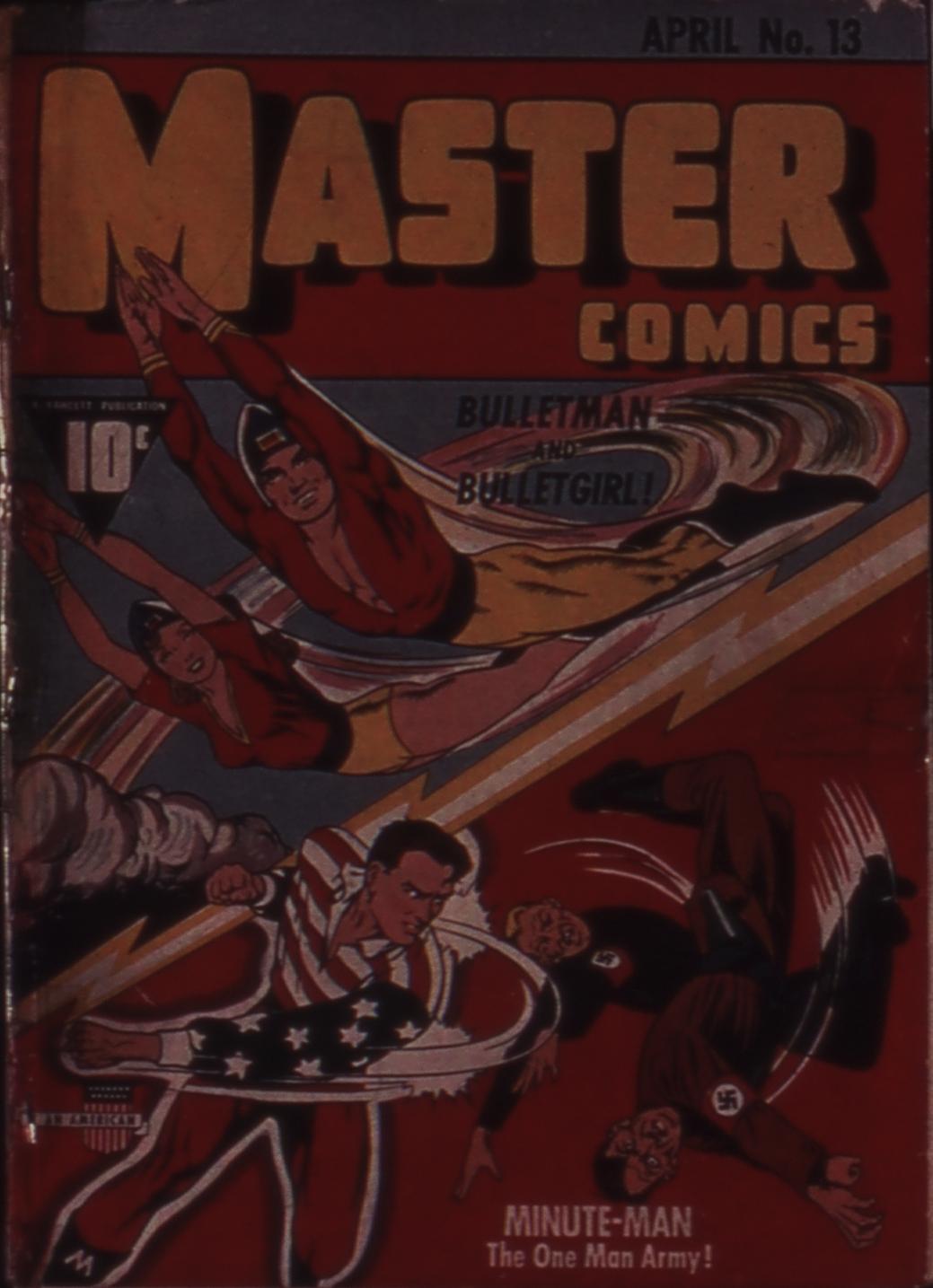 Master Comics 13 Page 1