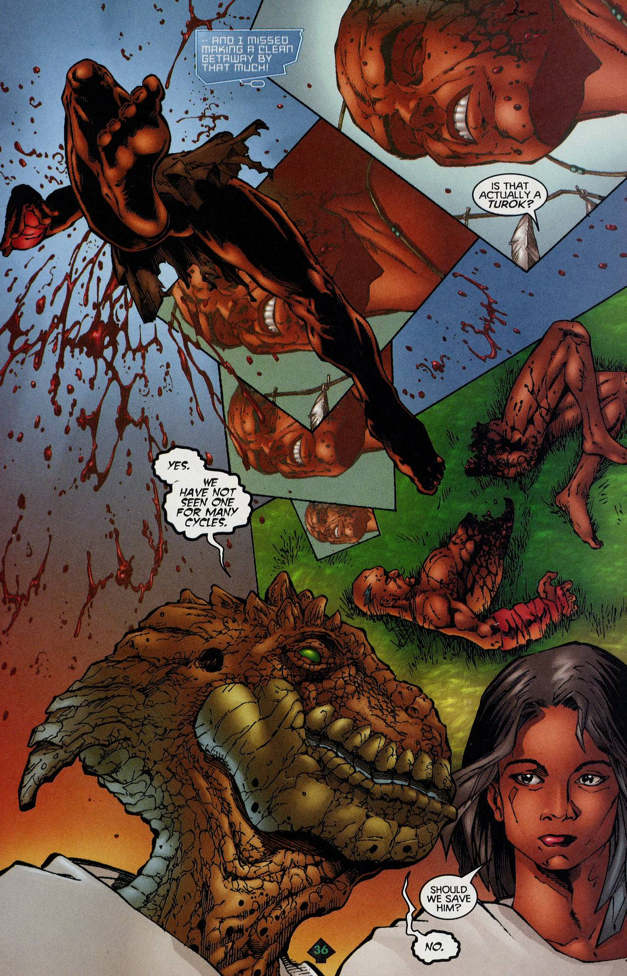Read online Turok: Tales of the Lost Land comic -  Issue # Full - 33