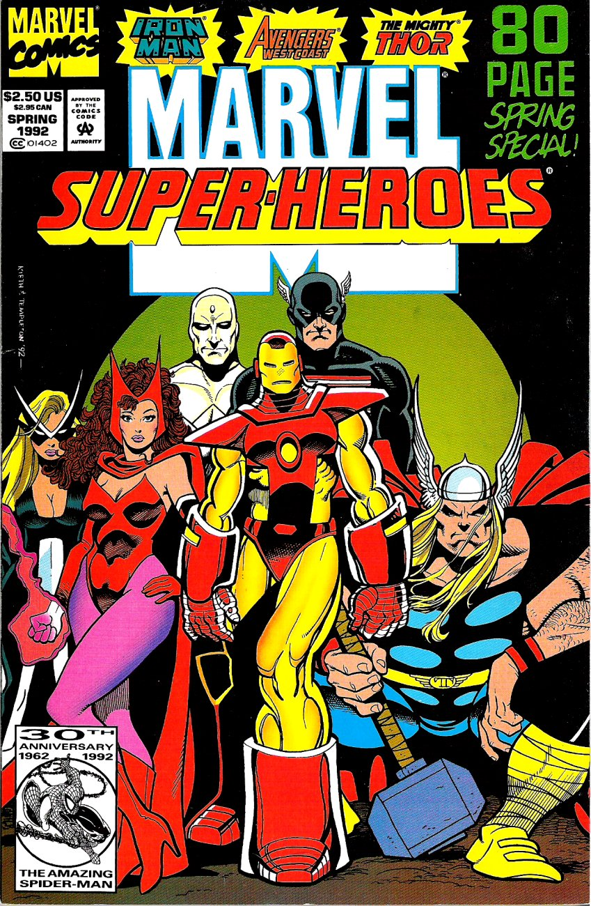 Marvel Super-Heroes (1990) 9 Page 1