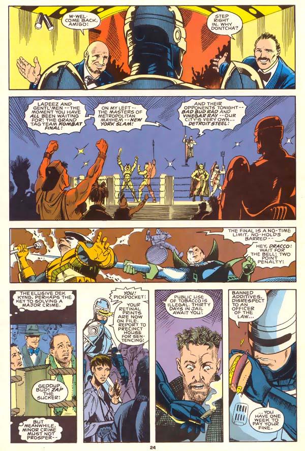 Read online Robocop (1990) comic -  Issue #1 - 18