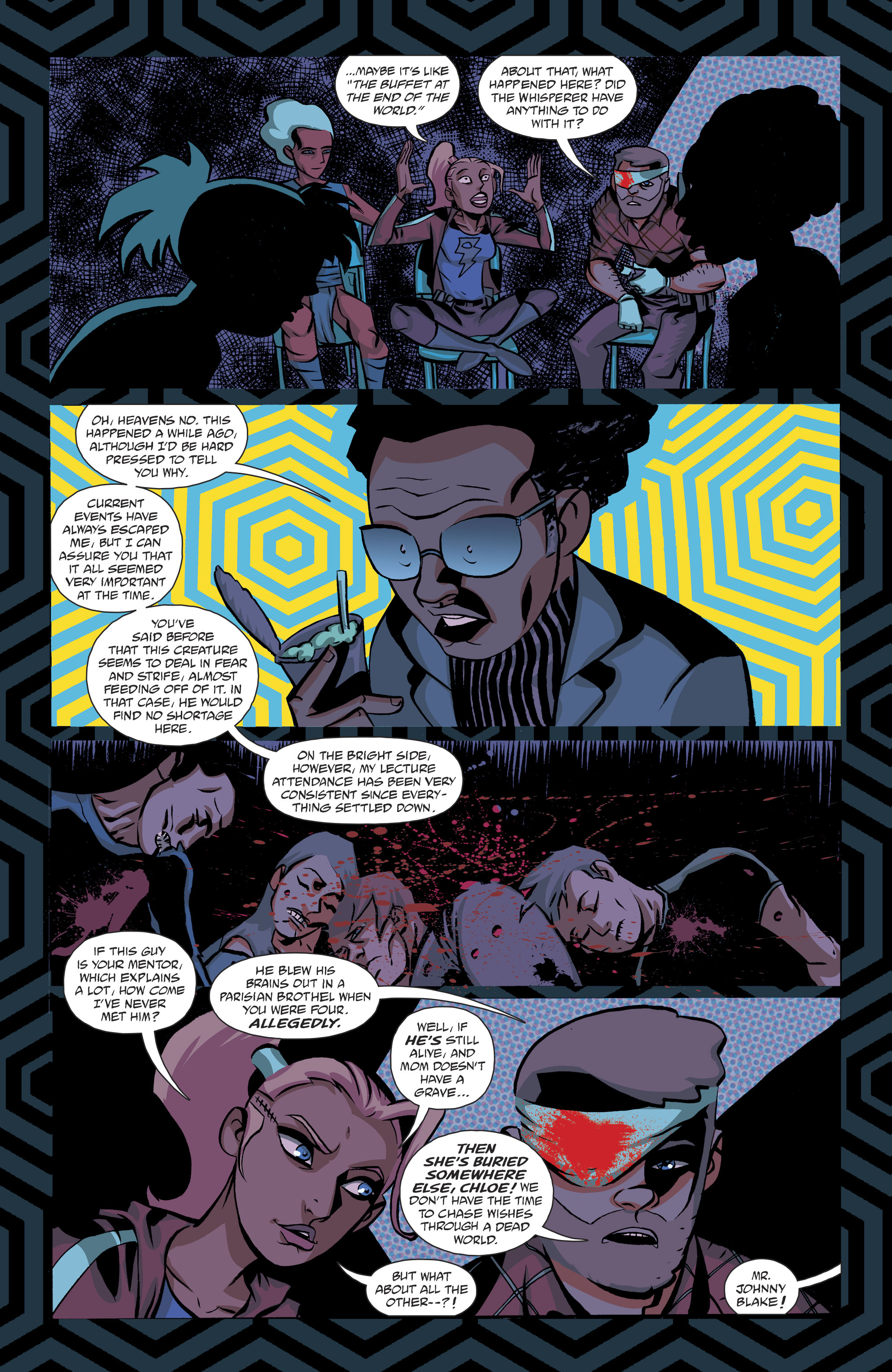 Read online Cave Carson Has a Cybernetic Eye comic -  Issue #8 - 16