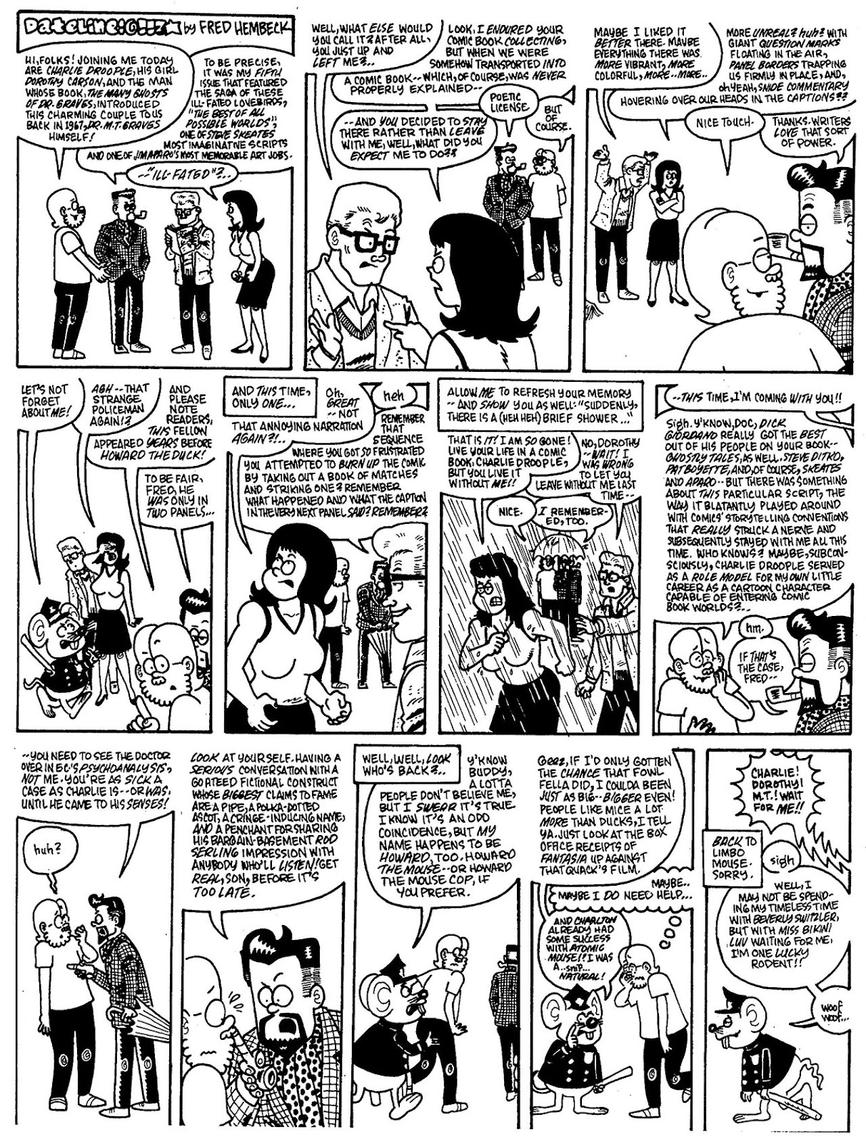 Read online The Nearly Complete Essential Hembeck Archives Omnibus comic -  Issue # TPB (Part 7) - 11