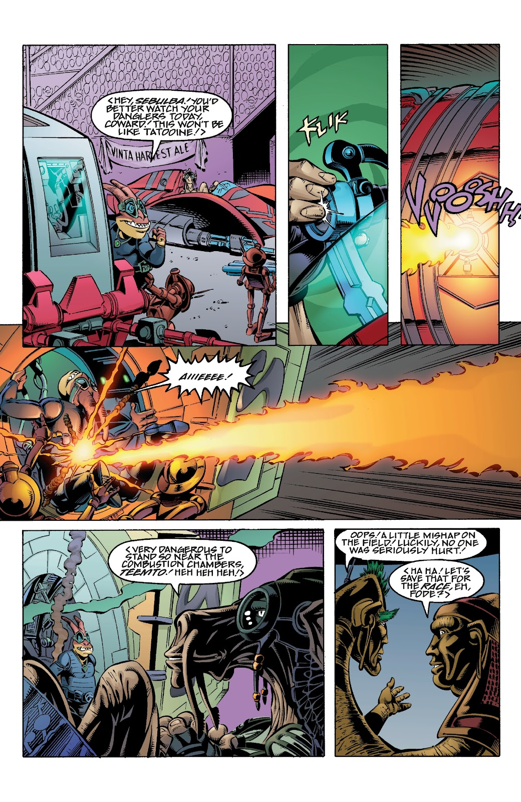 Read online Star Wars Legends Epic Collection: The Menace Revealed comic -  Issue # TPB (Part 4) - 4
