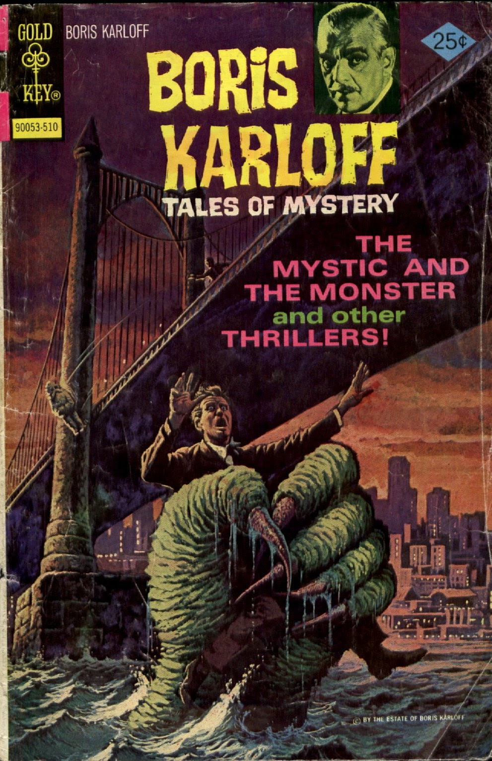 Boris Karloff Tales of Mystery issue 64 - Page 1