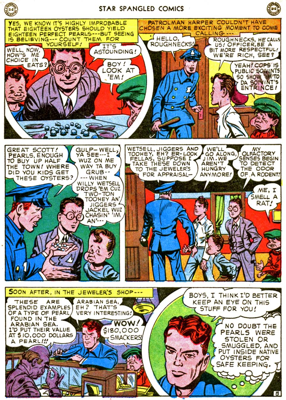 Star Spangled Comics (1941) issue 56 - Page 7