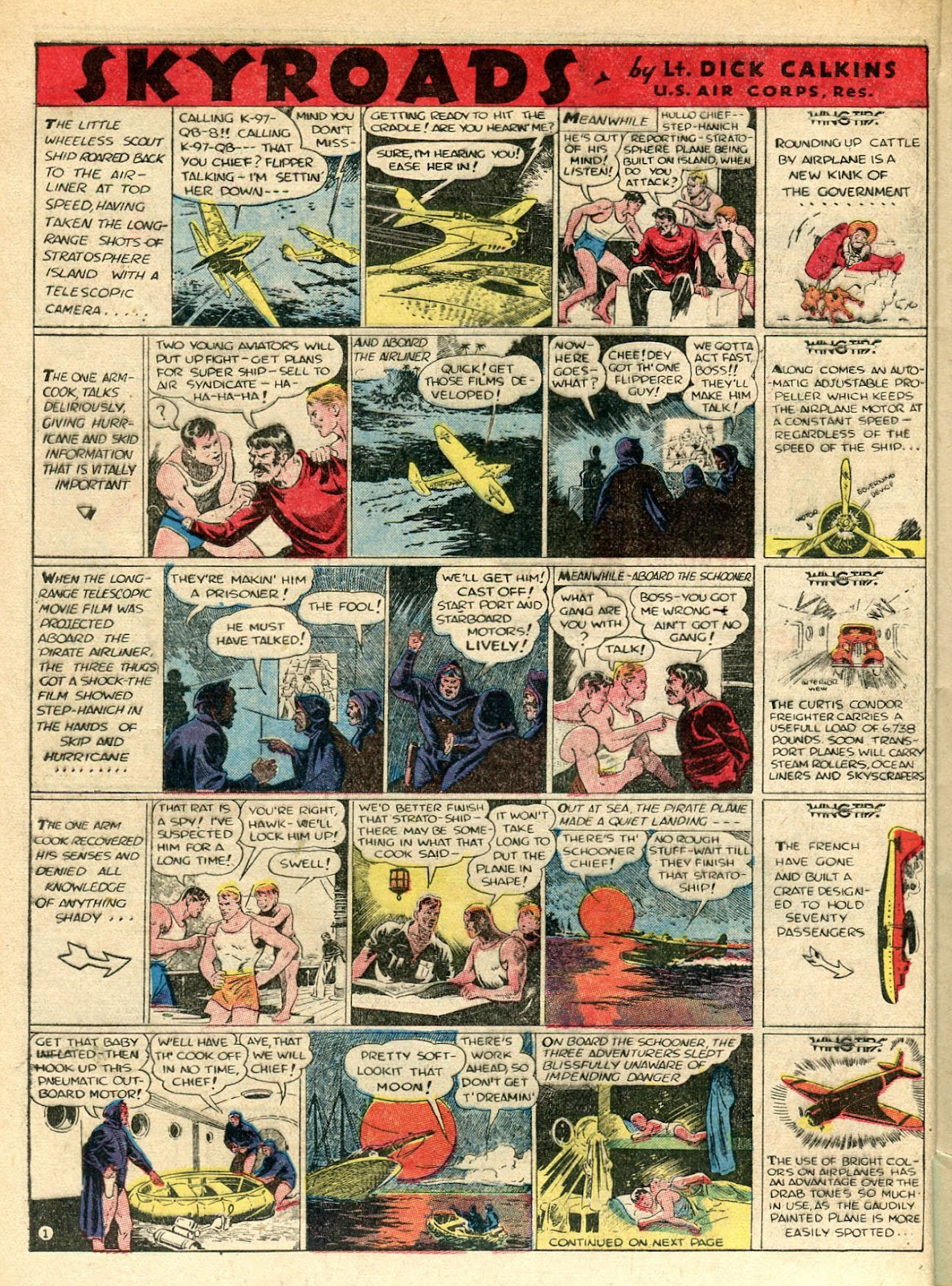 Read online Famous Funnies comic -  Issue #33 - 12