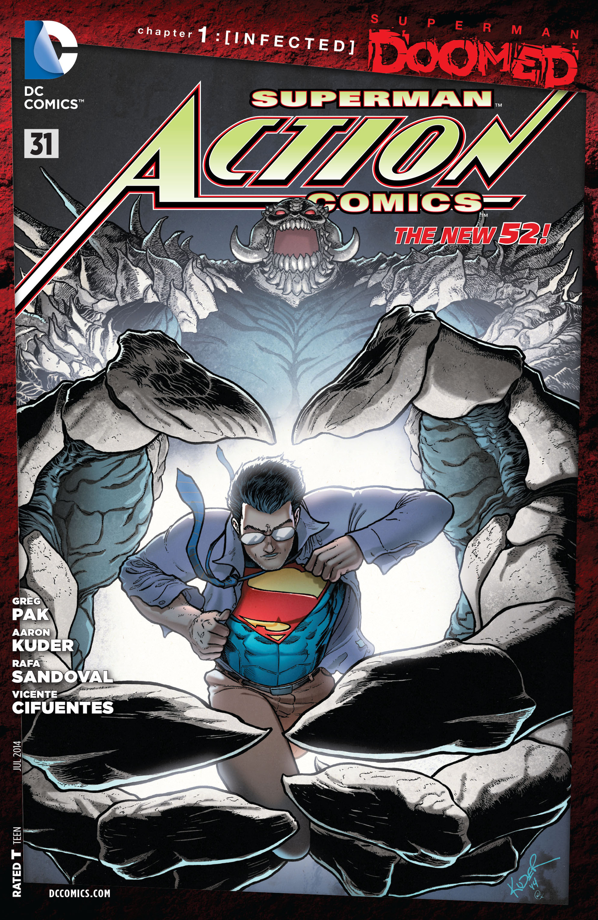 Action Comics (2011) 31 Page 1
