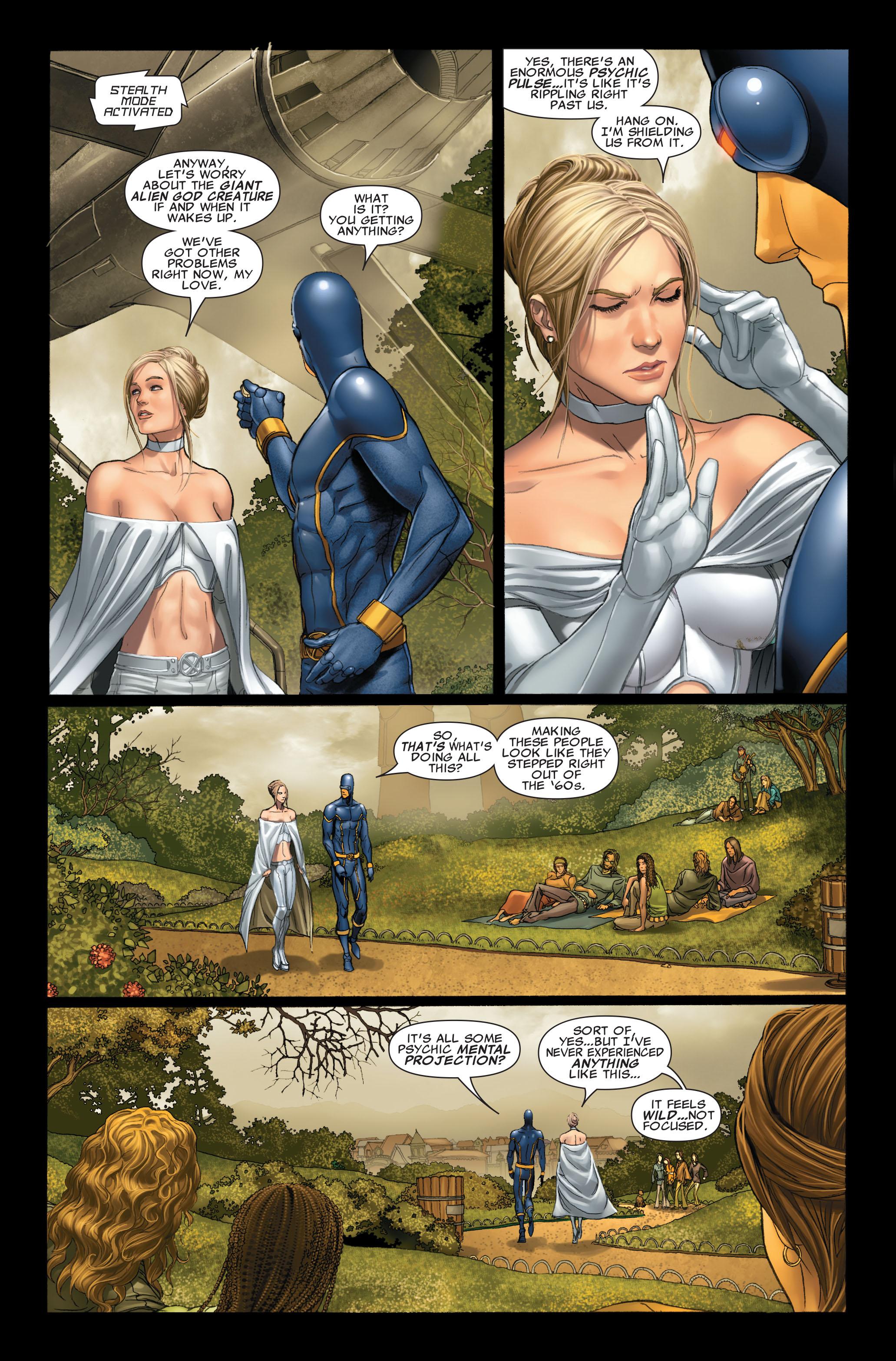 Read online Uncanny X-Men (1963) comic -  Issue #496 - 14