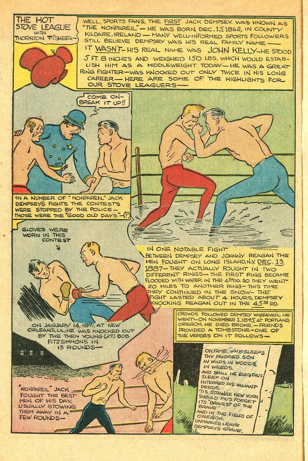 Read online Super-Magician Comics comic -  Issue #56 - 50