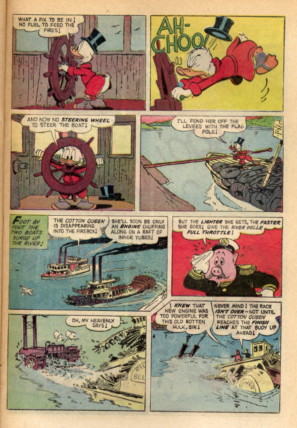 Read online Uncle Scrooge (1953) comic -  Issue #72 - 21