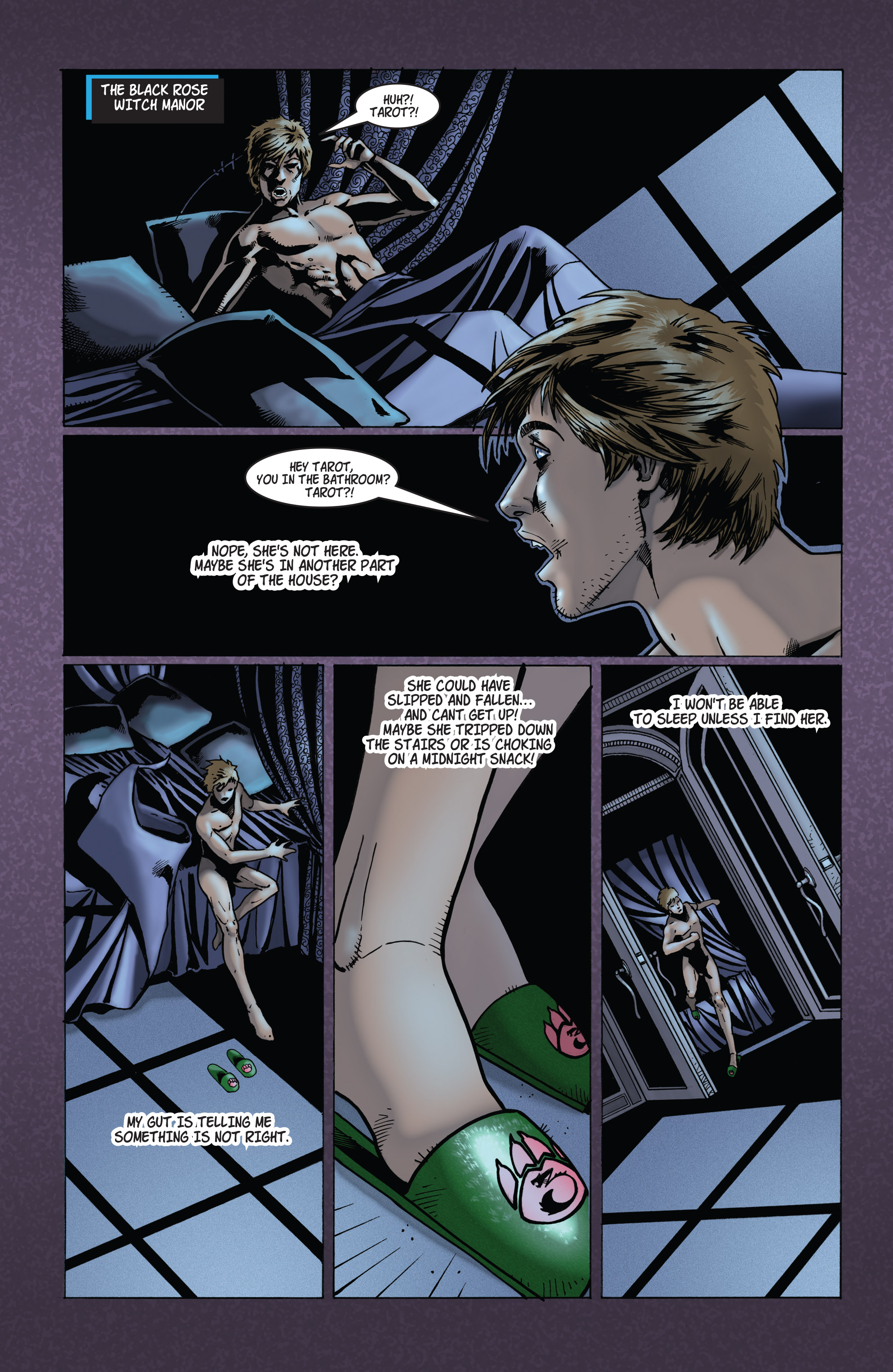 Read online Tarot: Witch of the Black Rose comic -  Issue #103 - 8
