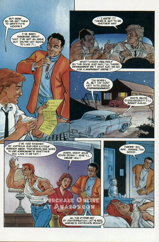 Read online Quantum Leap comic -  Issue #5 - 19