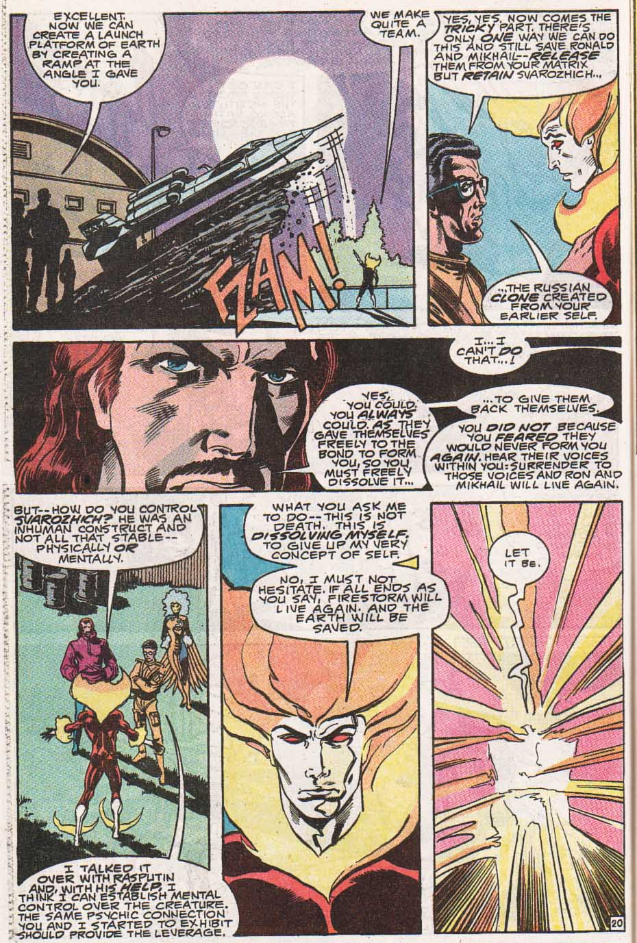 Firestorm, the Nuclear Man Issue #100 #36 - English 21