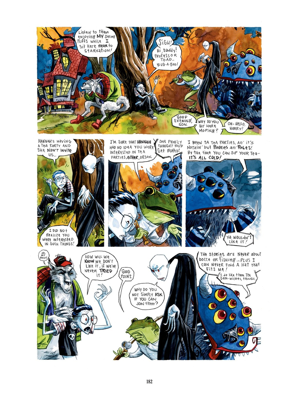 Read online Scary Godmother comic -  Issue # TPB - 182