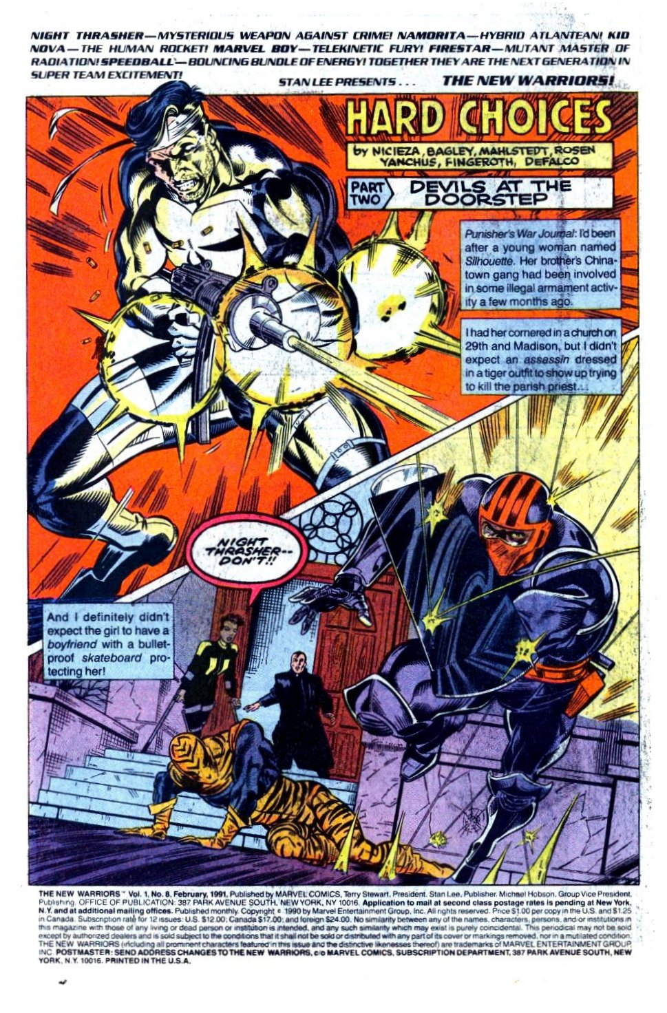 The New Warriors Issue #8 #12 - English 3