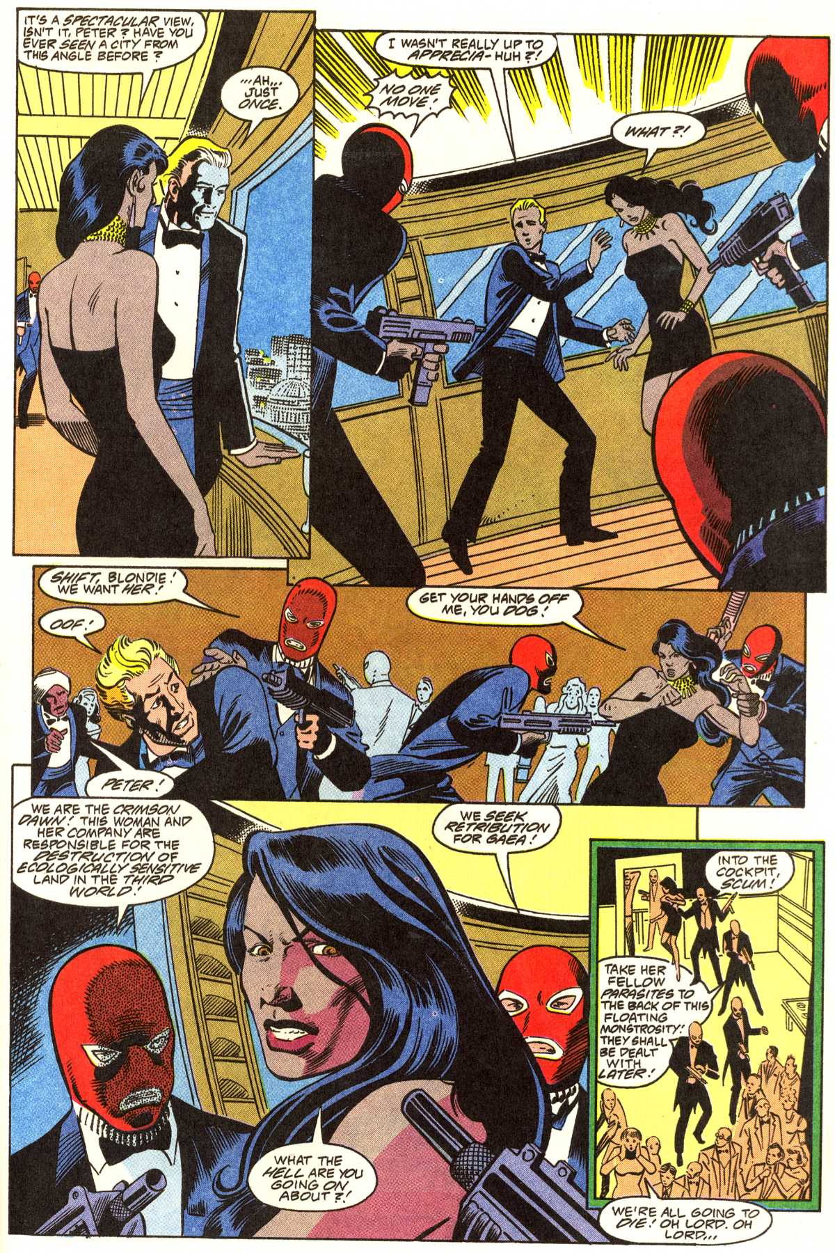 Read online Peter Cannon--Thunderbolt (1992) comic -  Issue #1 - 20