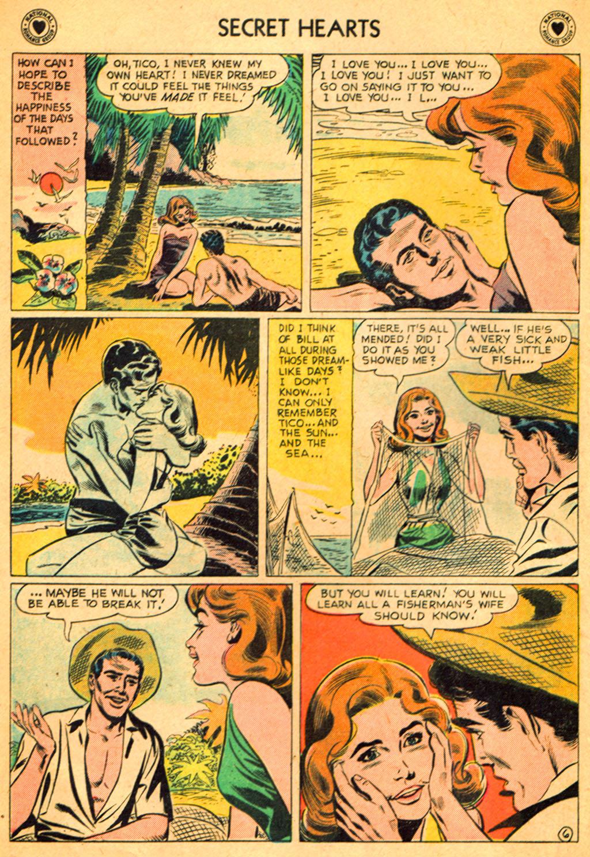 Read online Secret Hearts comic -  Issue #51 - 8