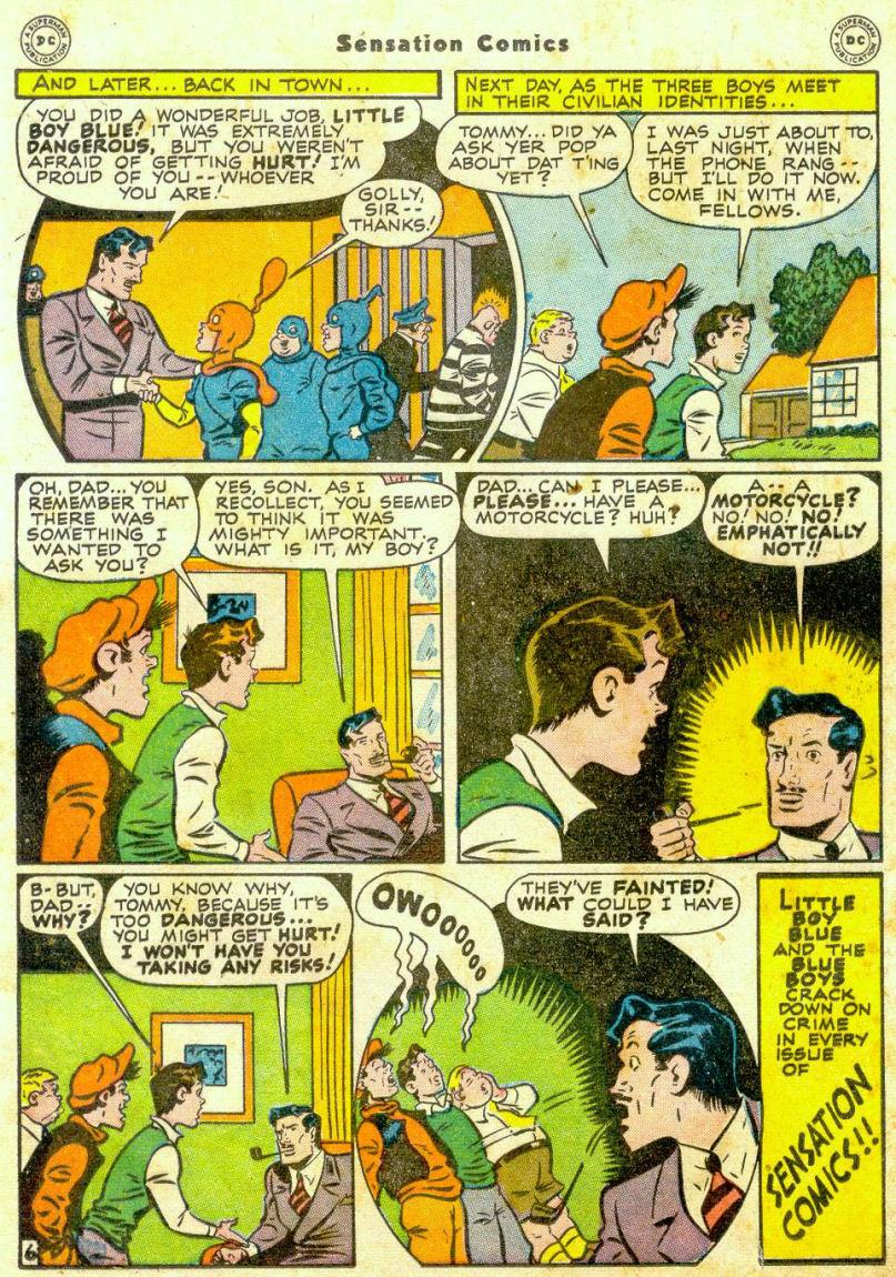 Read online Sensation (Mystery) Comics comic -  Issue #65 - 21