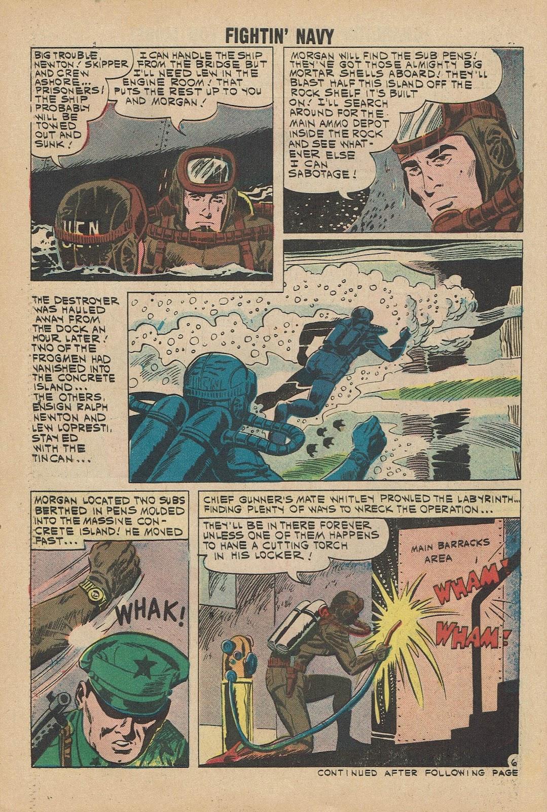 Read online Fightin' Navy comic -  Issue #98 - 30