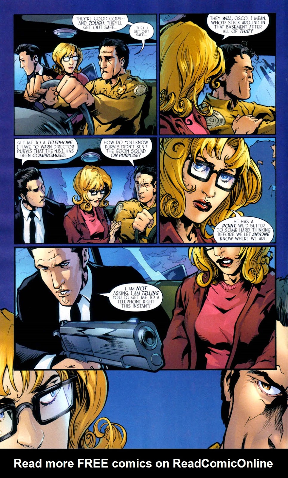 Read online Route 666 comic -  Issue #9 - 13