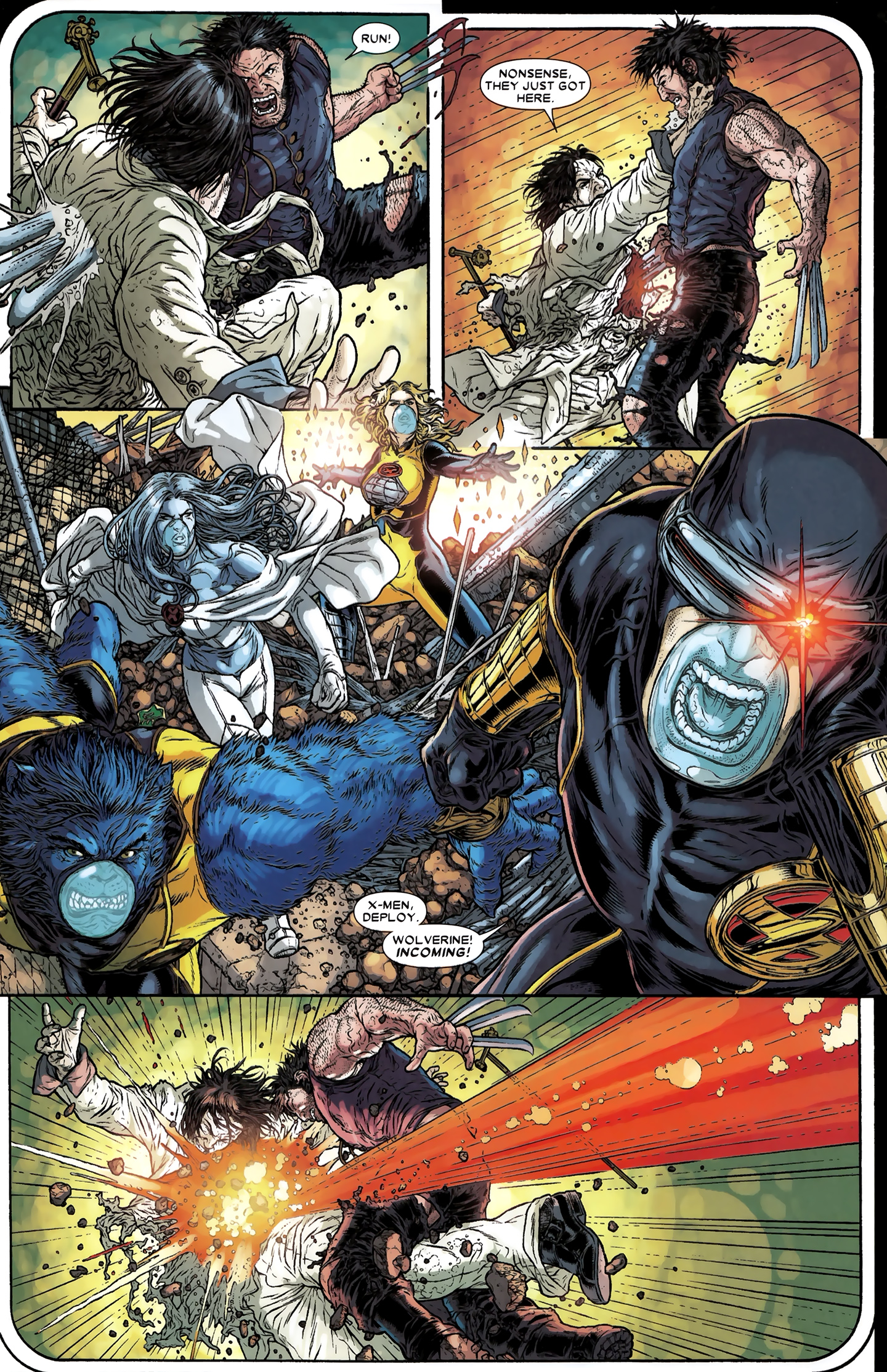 Read online Wolverine: The Best There Is comic -  Issue #12 - 5