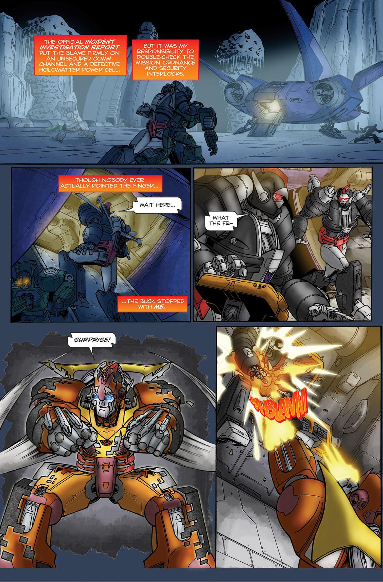 Read online Transformers Spotlight: Hot Rod comic -  Issue # Full - 21
