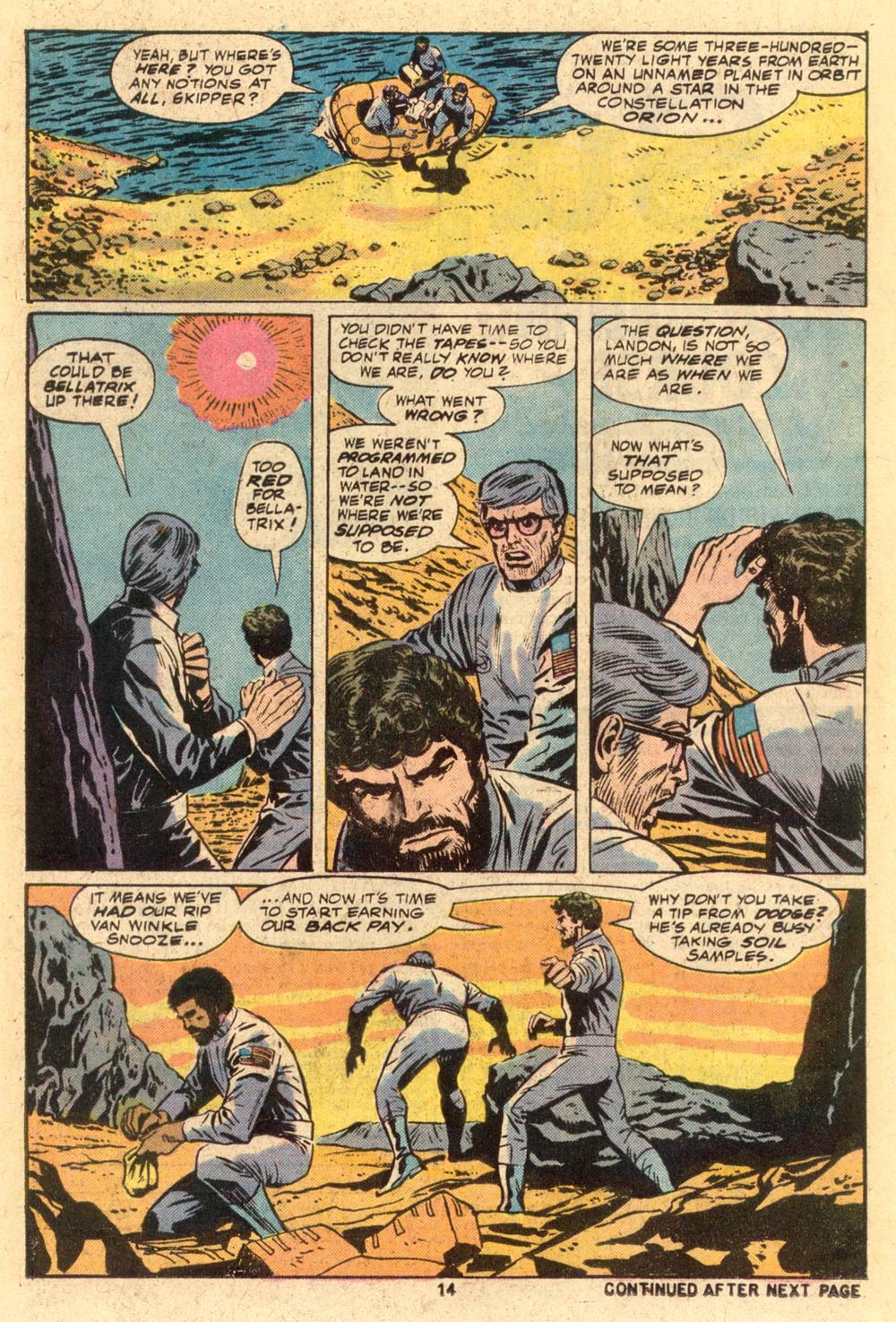 Read online Adventures on the Planet of the Apes comic -  Issue #1 - 9