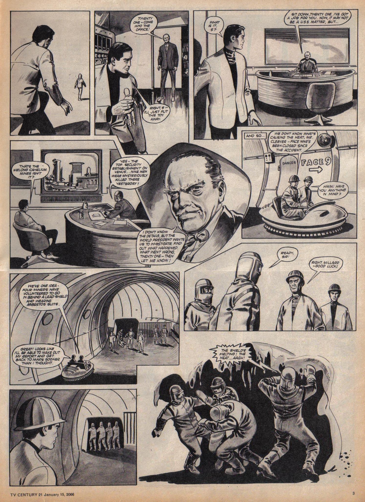 Read online TV Century 21 (TV 21) comic -  Issue #52 - 3