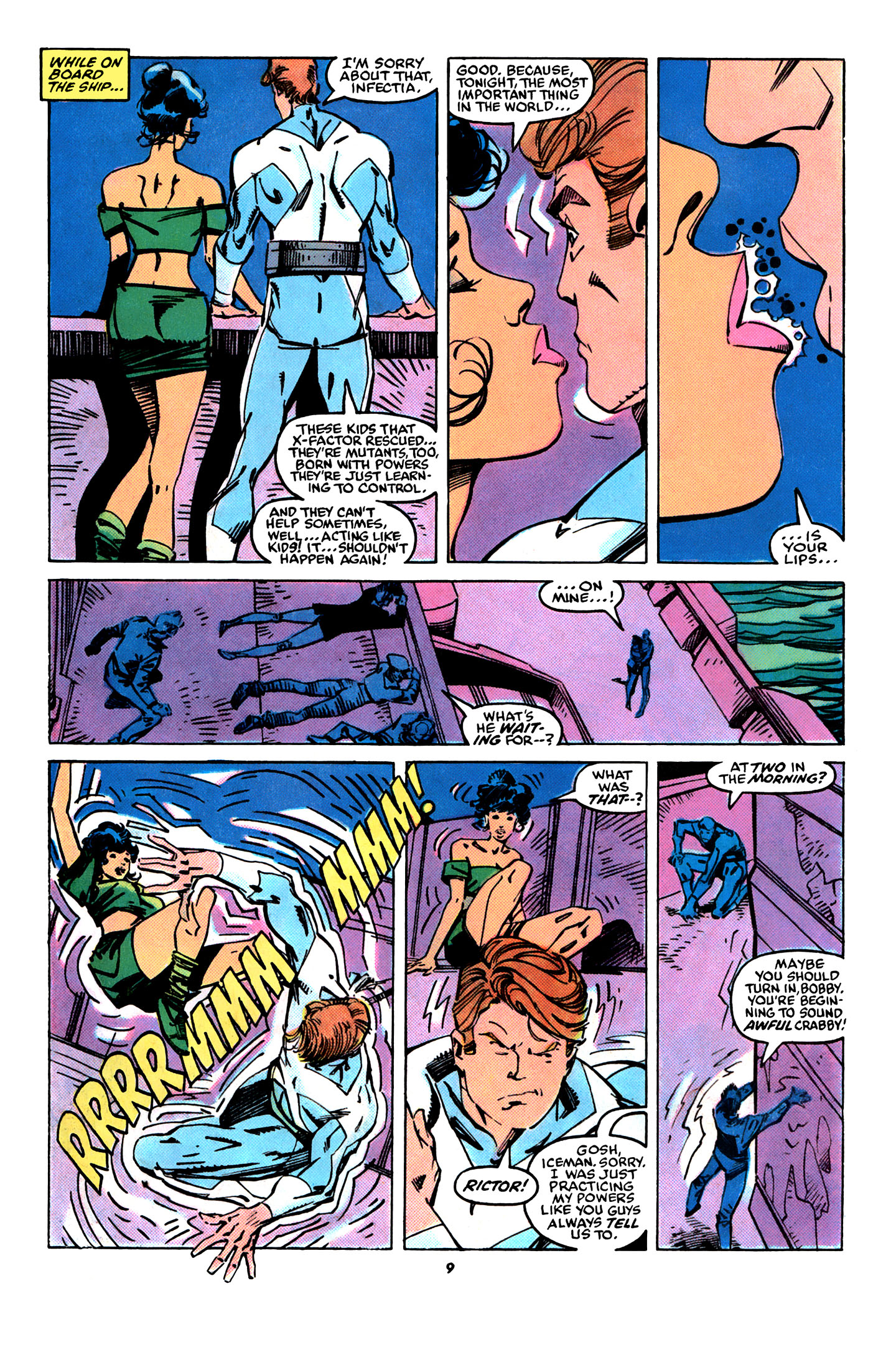 Read online X-Factor (1986) comic -  Issue #31 - 8