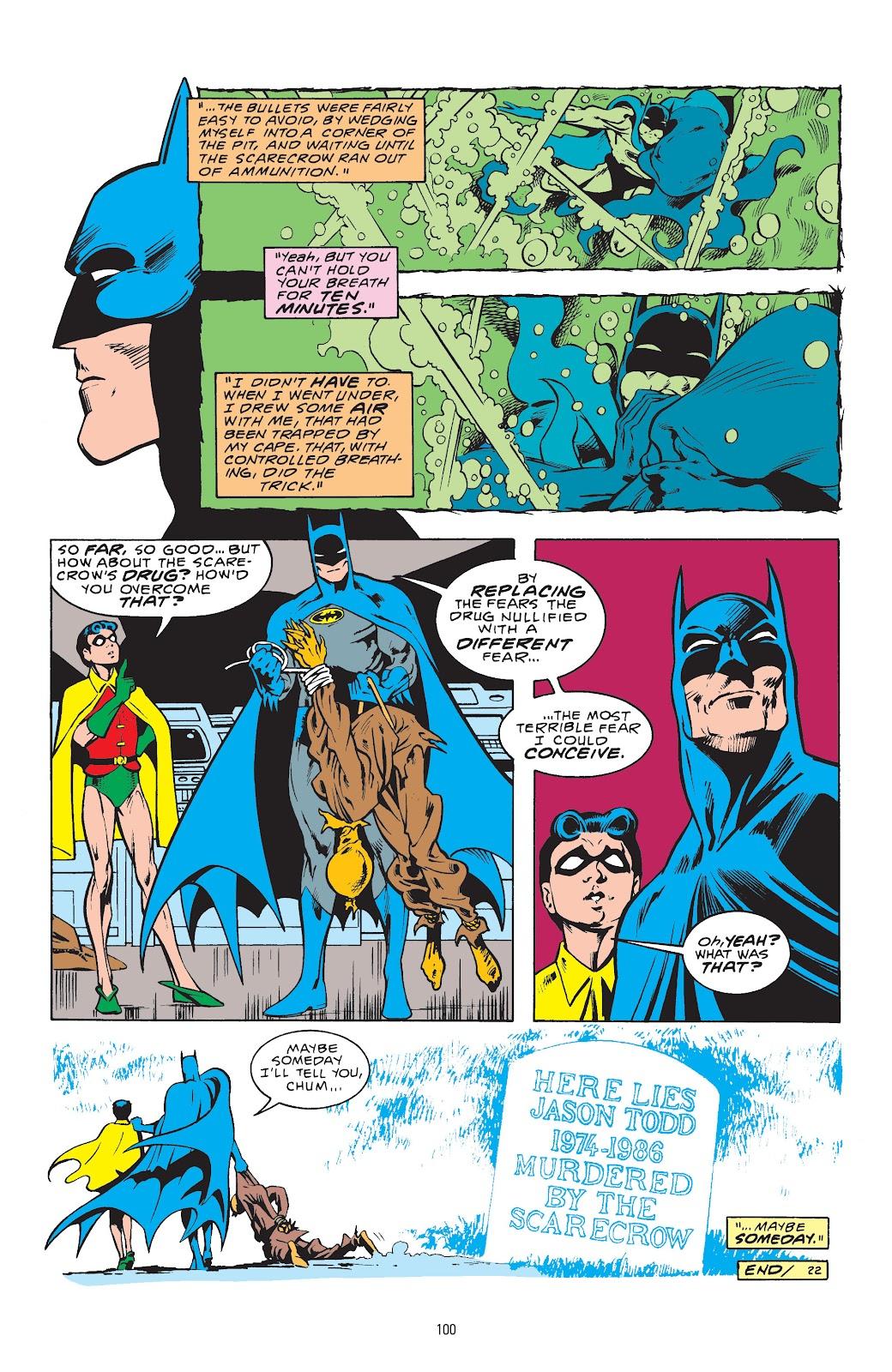 Read online Detective Comics (1937) comic -  Issue # _TPB Batman - The Dark Knight Detective 1 (Part 1) - 100