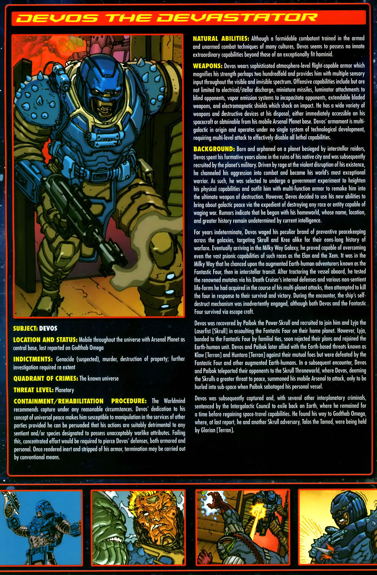 Read online Annihilation:  The  Nova Corps Files comic -  Issue #Annihilation:  The  Nova Corps Files Full - 10