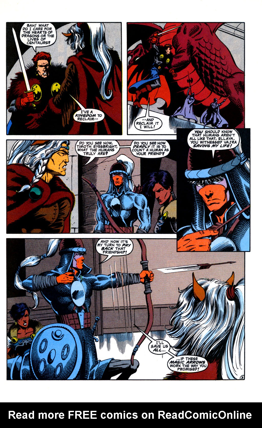 Read online Advanced Dungeons & Dragons comic -  Issue #26 - 4