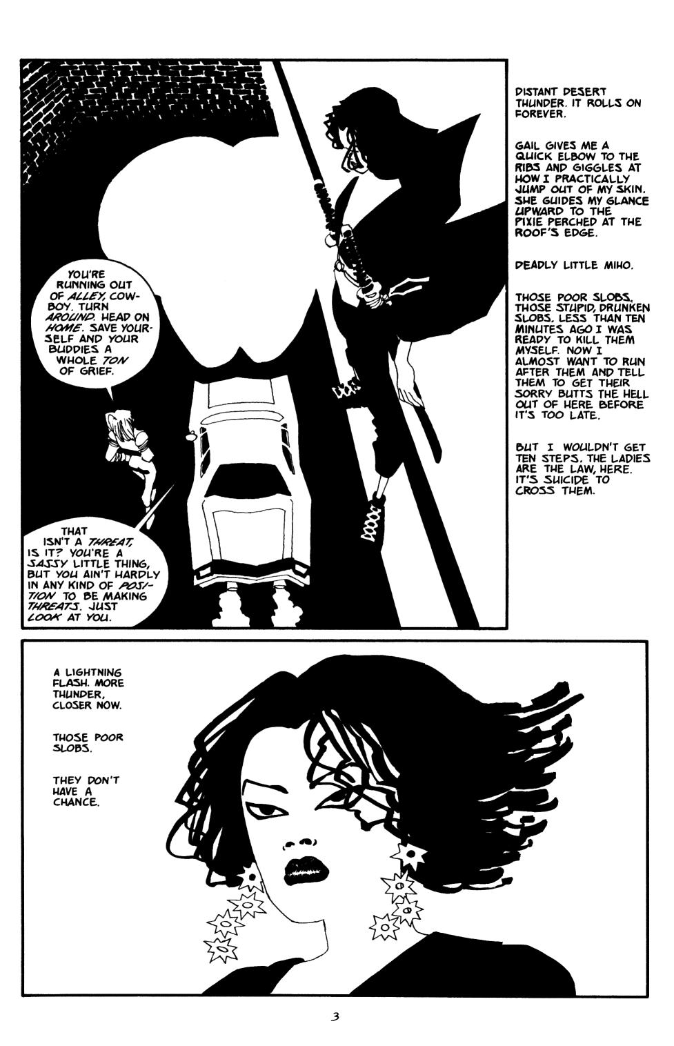 Read online Sin City: The Big Fat Kill comic -  Issue #2 - 4