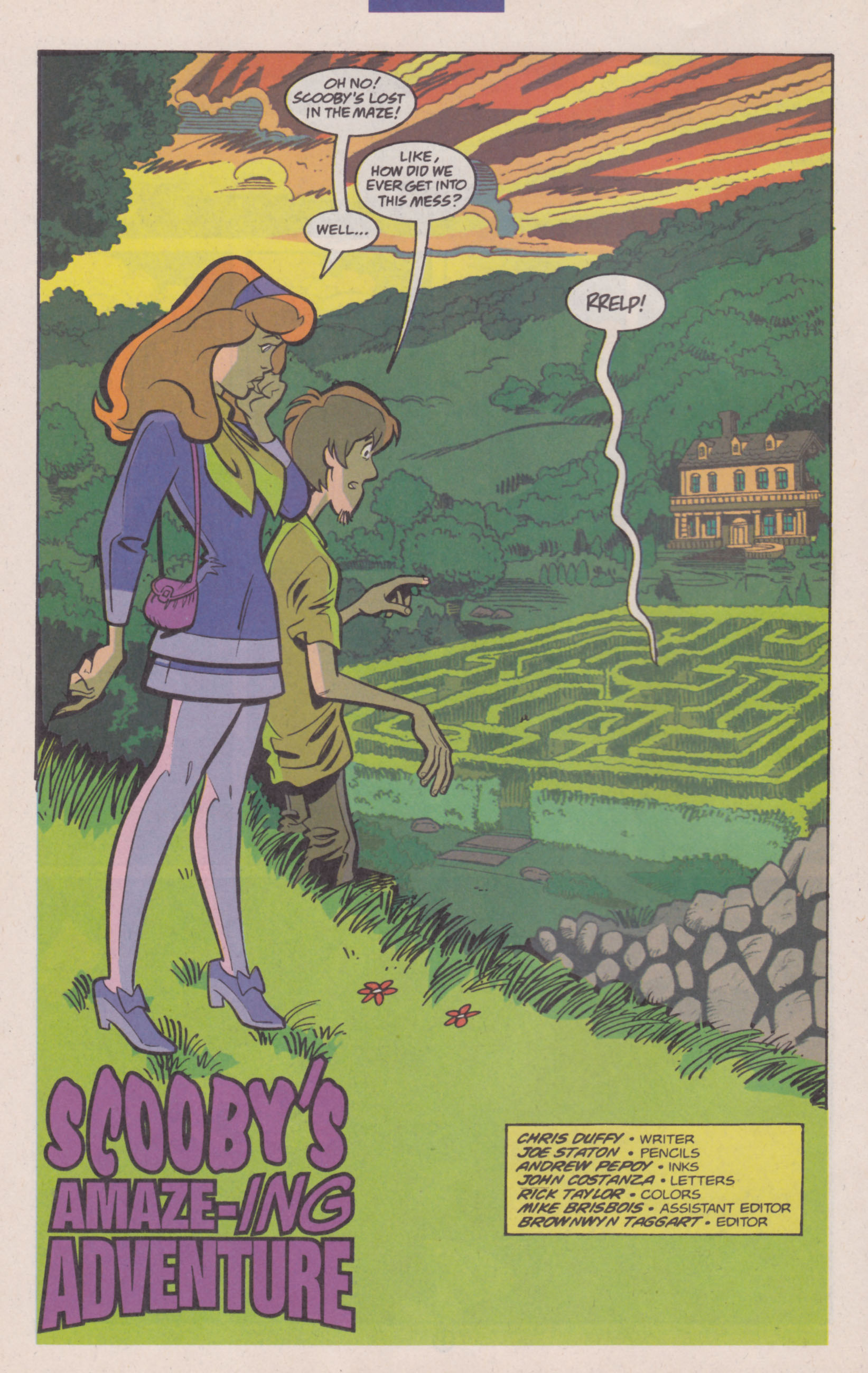 Read online Scooby-Doo (1997) comic -  Issue #14 - 17