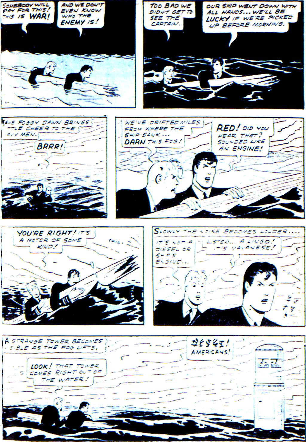 Read online Adventure Comics (1938) comic -  Issue #42 - 45