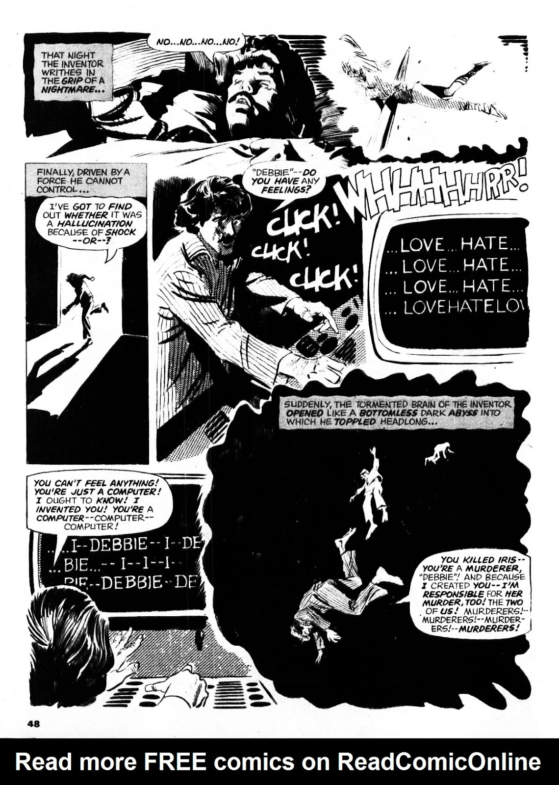 Nightmare (1970) issue 21 - Page 47