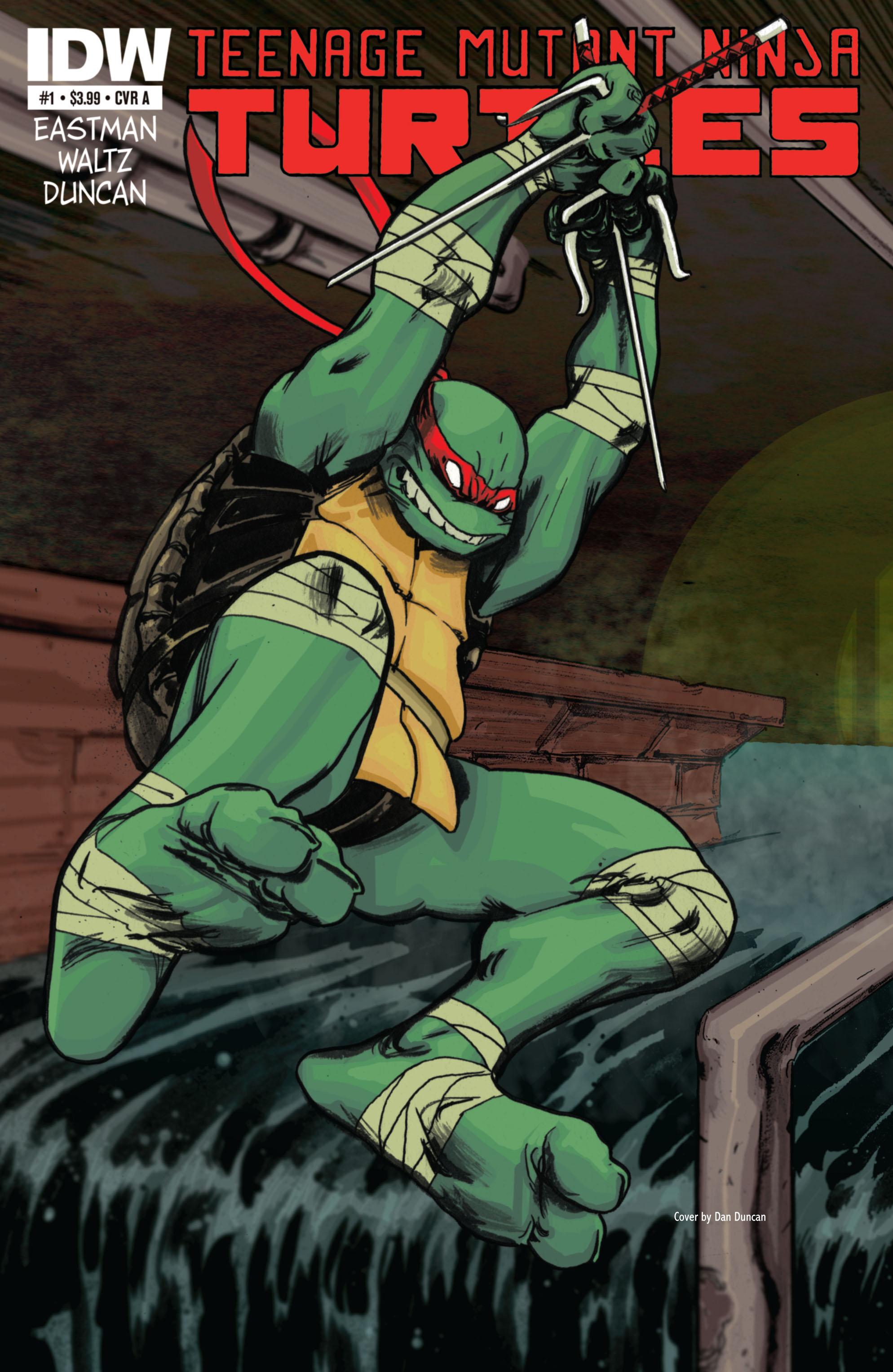 Teenage Mutant Ninja Turtles (2011) issue 1 - Page 1