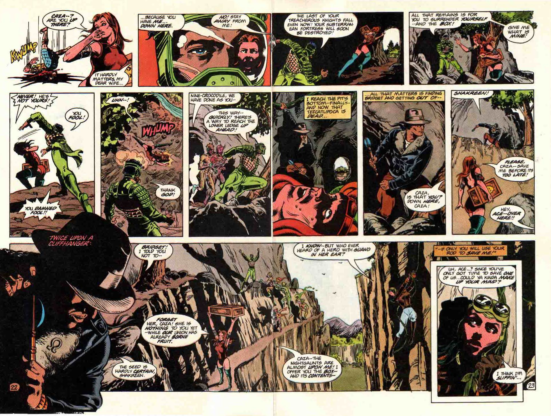 Read online Aztec Ace comic -  Issue #11 - 19