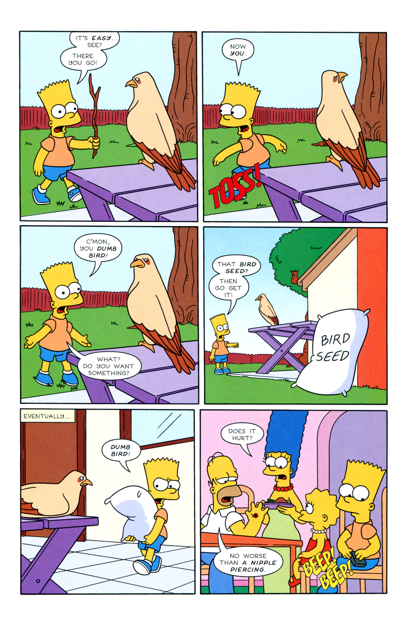 Read online Simpsons Illustrated (1991) comic -  Issue #3 - 10
