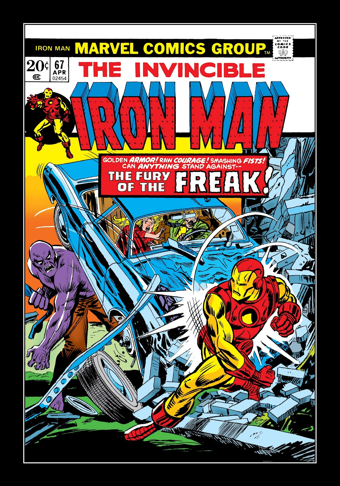 Read online Marvel Masterworks: The Invincible Iron Man comic -  Issue # TPB 9 (Part 3) - 73