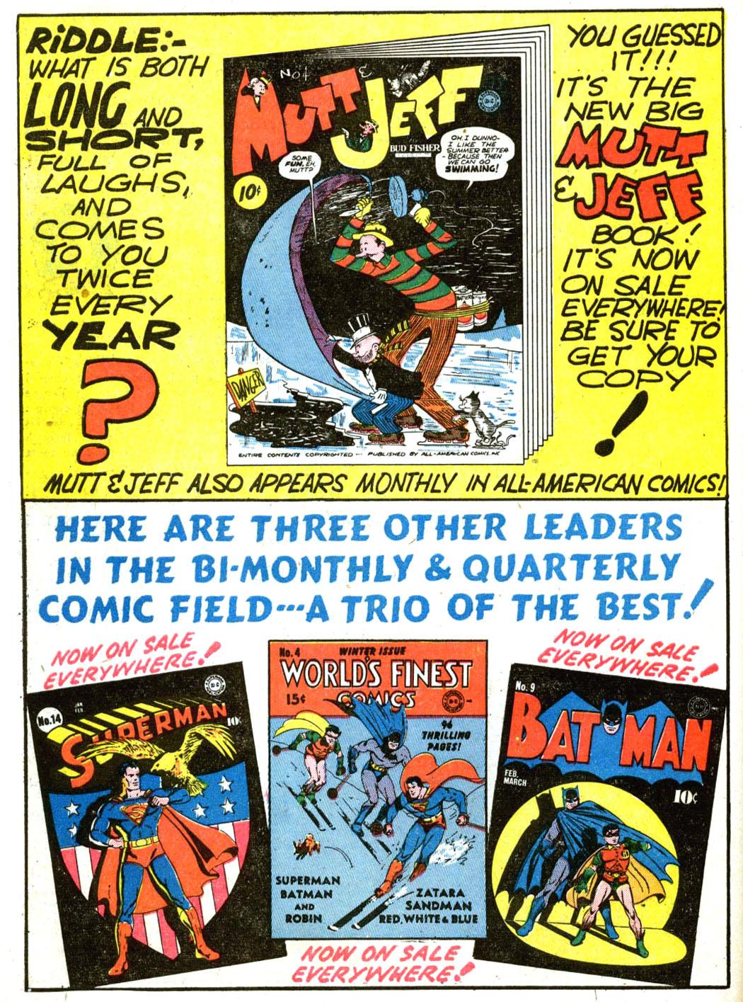 Read online Sensation (Mystery) Comics comic -  Issue #2 - 48