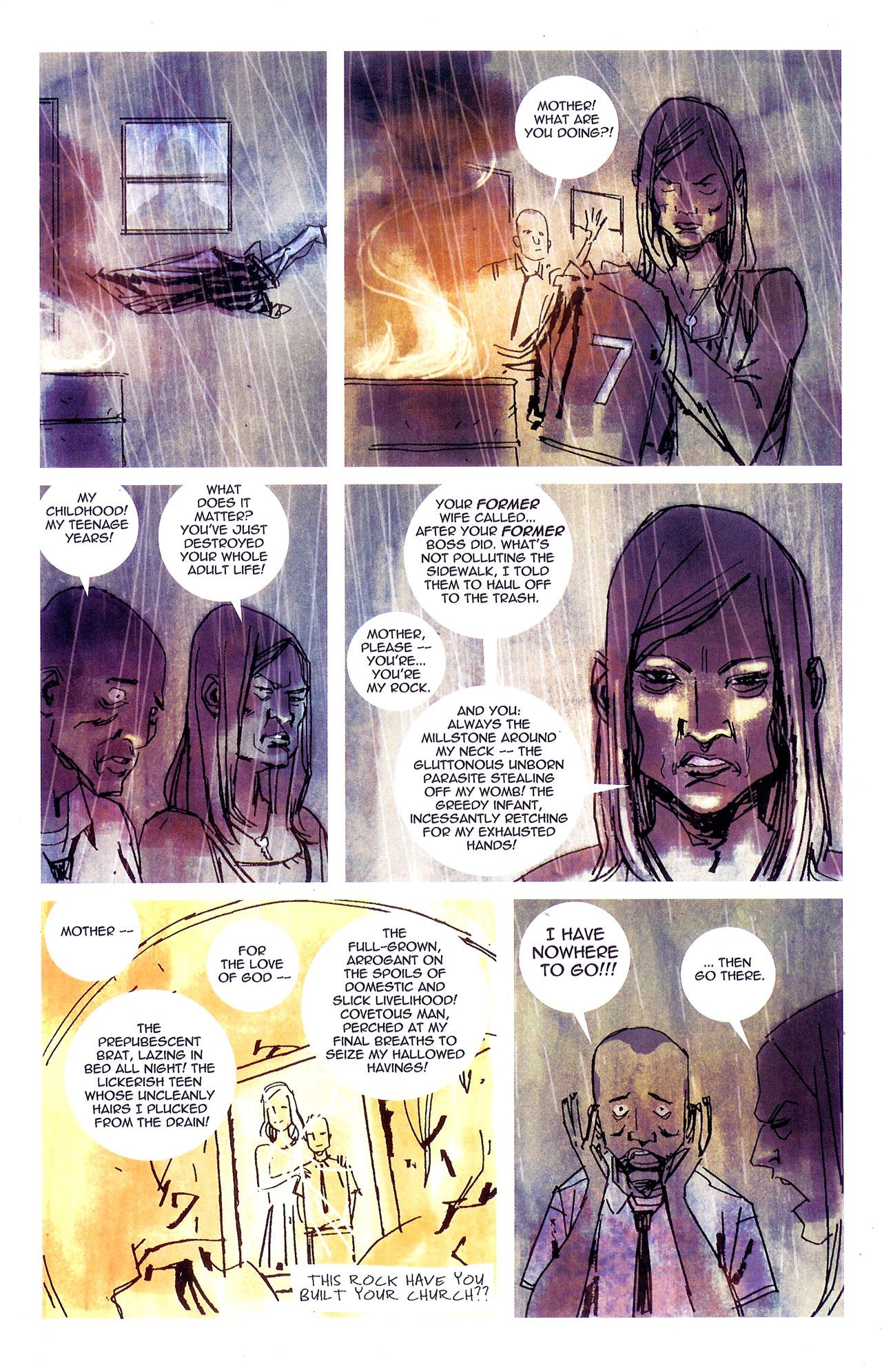 Read online Se7en comic -  Issue #7 - 22