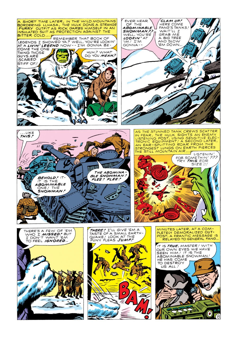 Read online Marvel Masterworks: The Incredible Hulk comic -  Issue # TPB 1 (Part 2) - 23