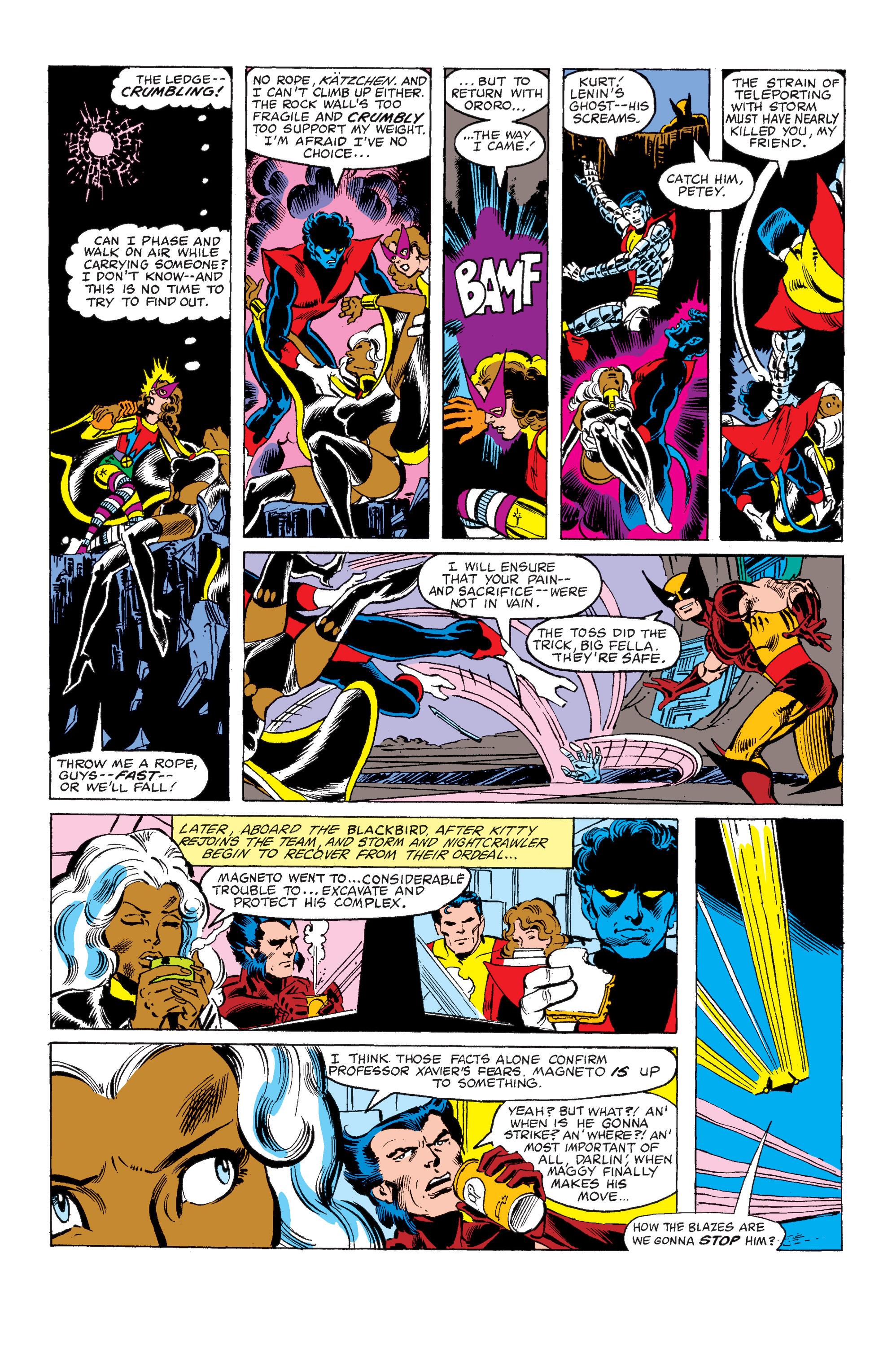 Read online Uncanny X-Men (1963) comic -  Issue #149 - 21