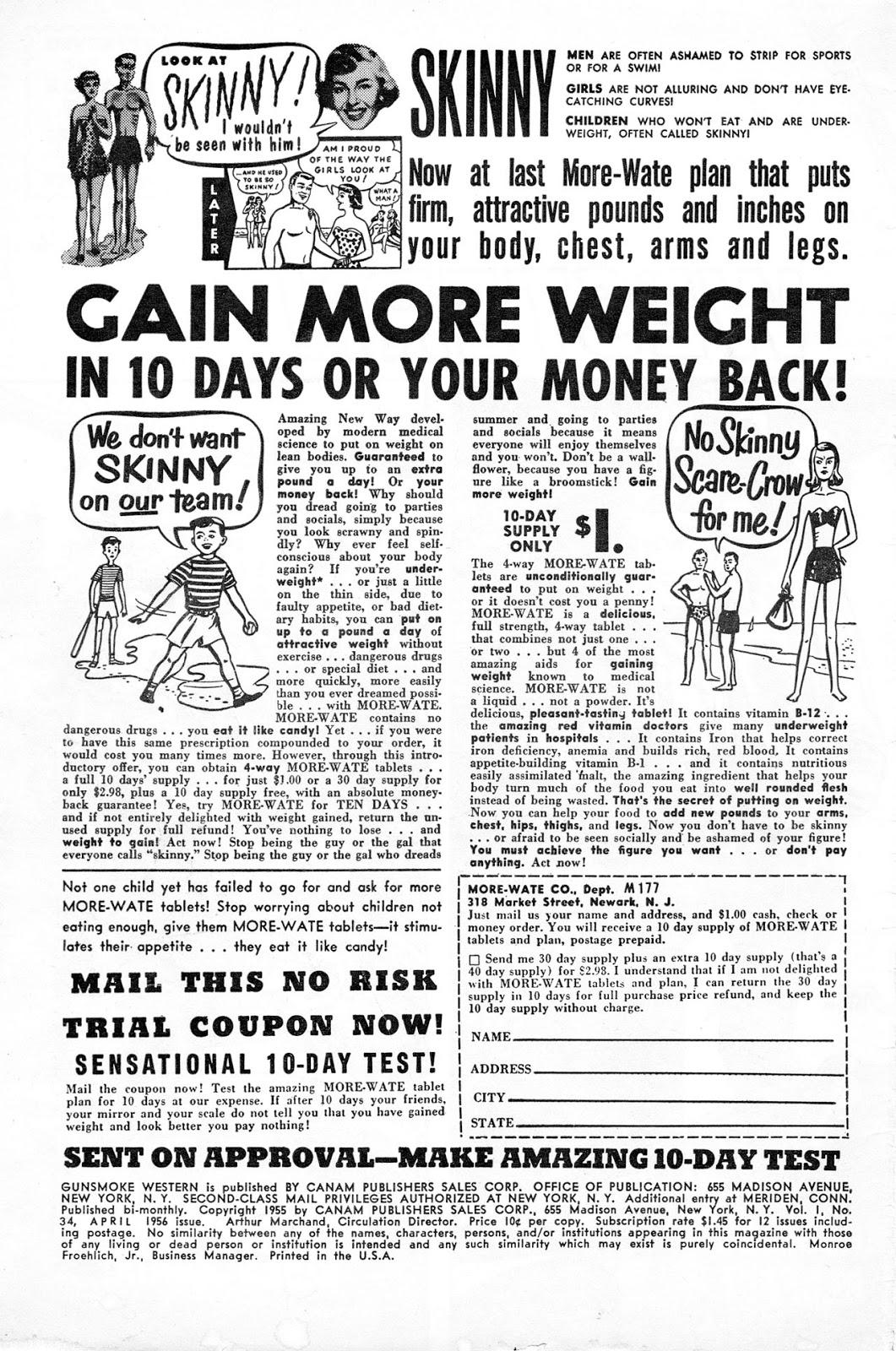 Gunsmoke Western issue 34 - Page 2