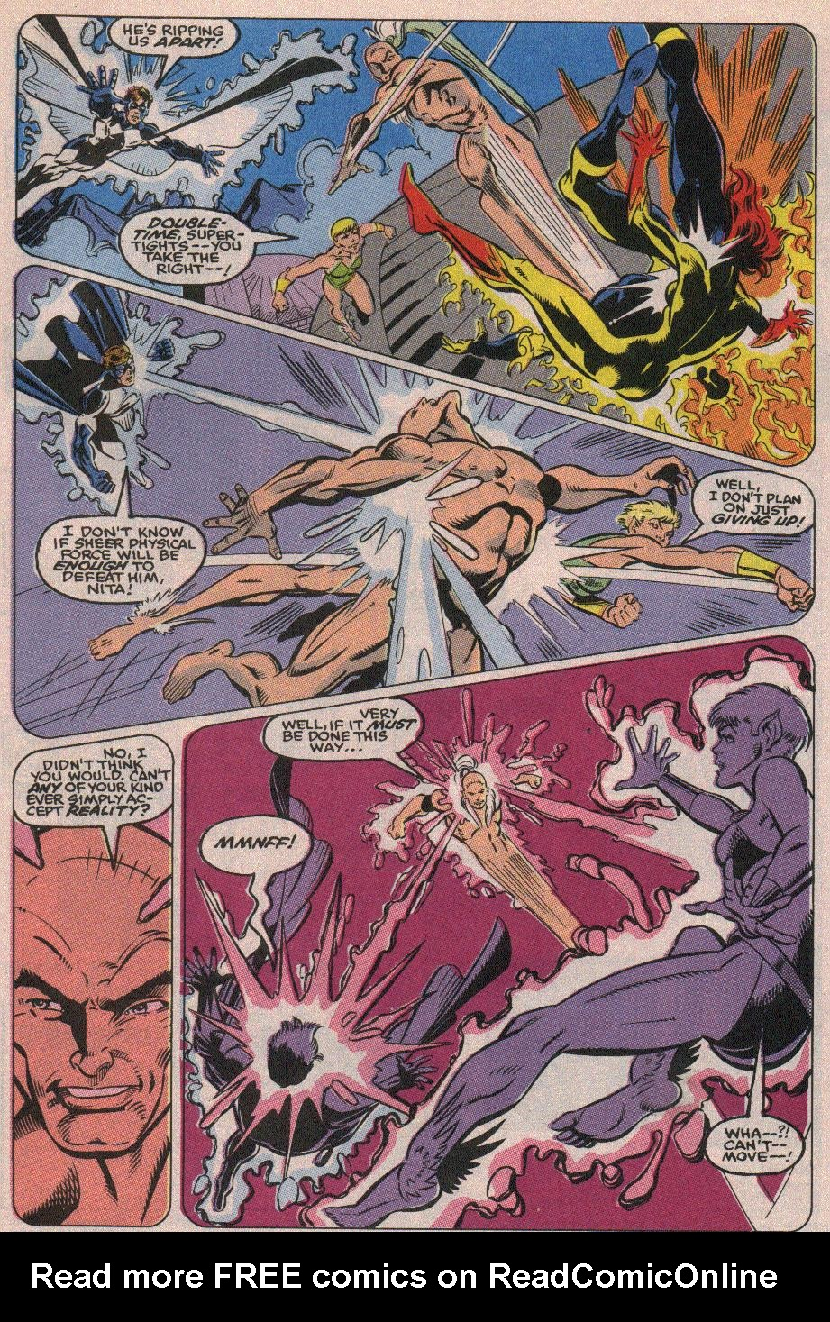 The New Warriors Issue #19 #23 - English 19