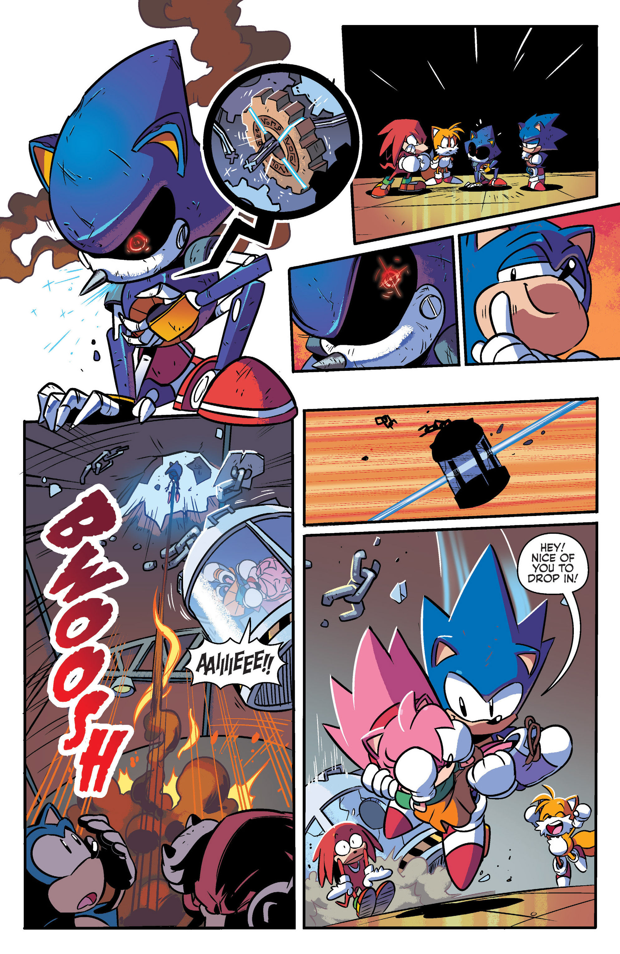 Read online Sonic: Mega Drive - The Next Level comic -  Issue # Full - 30